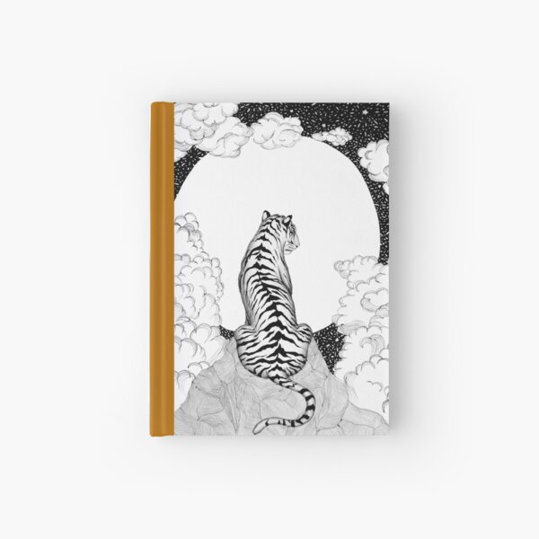 Tiger Moon Hardcover Journal