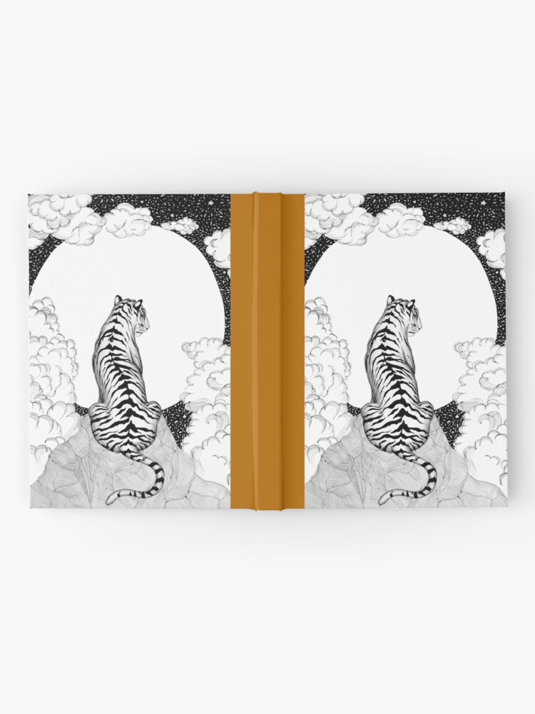 Alternate view of Tiger Moon Hardcover Journal