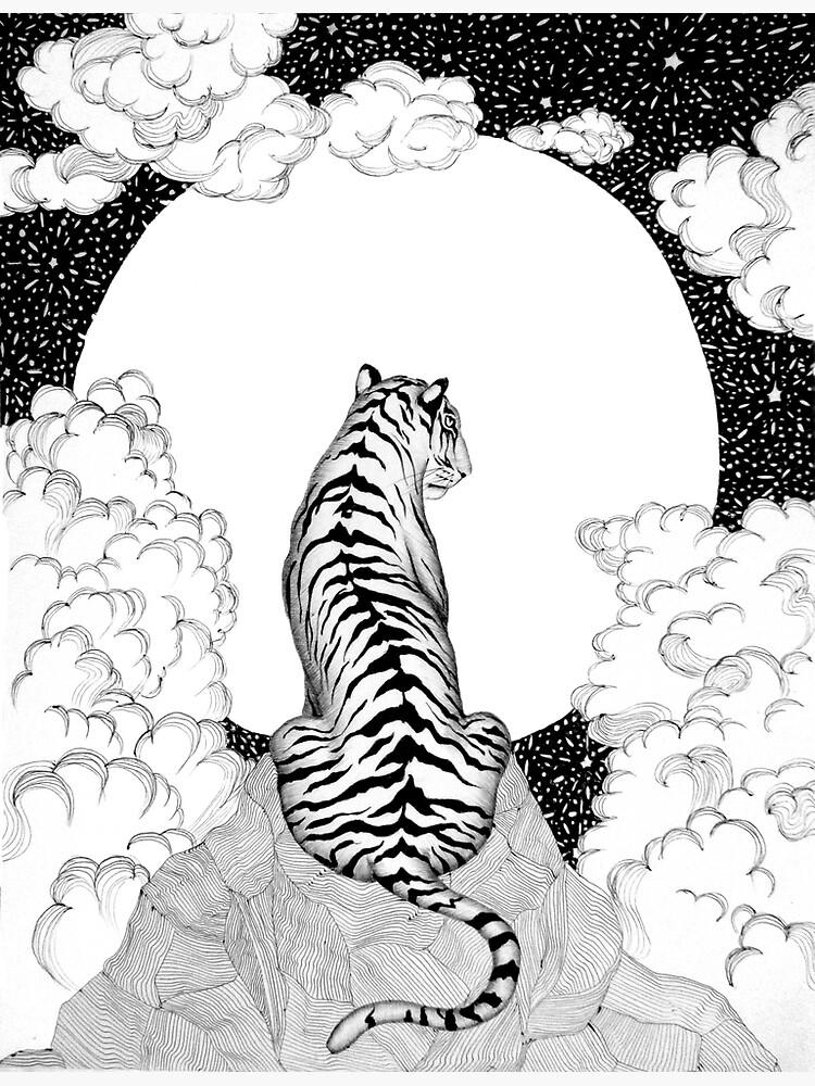 Tiger Moon by ECMazur