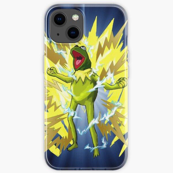 Super Saiyan Kermit iPhone Soft Case