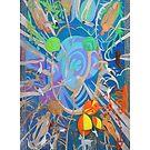Four of Whirling Aspens by Denise Weaver Ross
