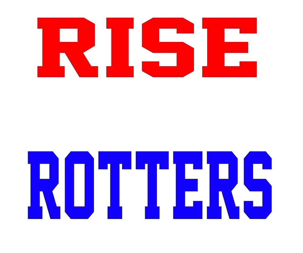 EBW - Sam Goodison Rise Above Rotters T-Shirt by EBWWrestling