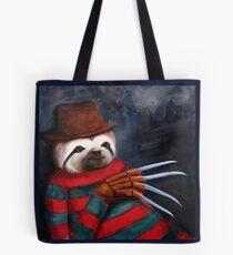 Nightmare on Elm Street Sloth Tote Bag