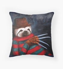Nightmare on Elm Street Sloth Throw Pillow