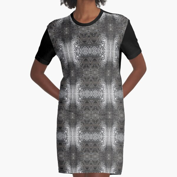 pattern, design, abstract, art, decoration, illustration, old, textile, shape, element Graphic T-Shirt Dress