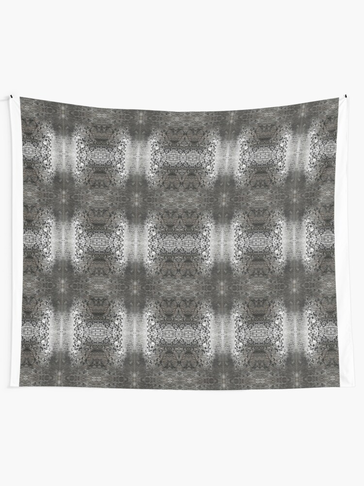 Alternate view of pattern, design, abstract, art, decoration, illustration, old, textile, shape, element Tapestry