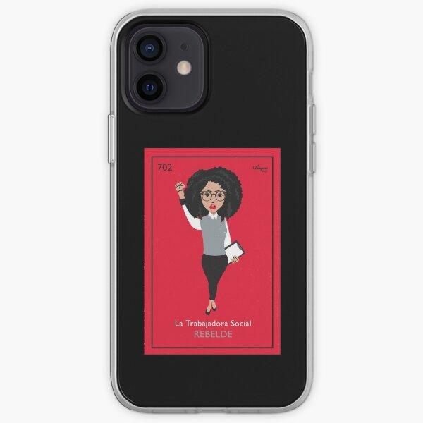 La Trabajadora Social Rebelde iPhone Soft Case