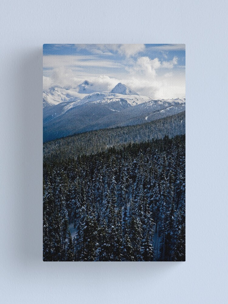 Alternate view of View from Whistler Mountain Canvas Print