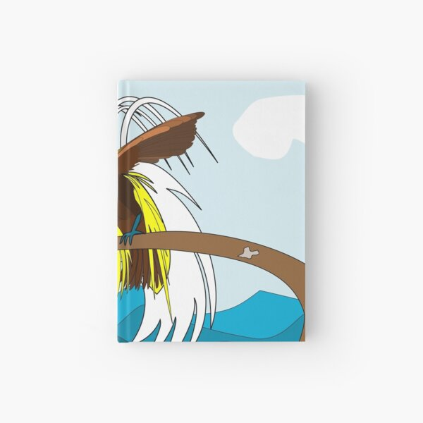 Lesser Birds of Paradise Hardcover Journal
