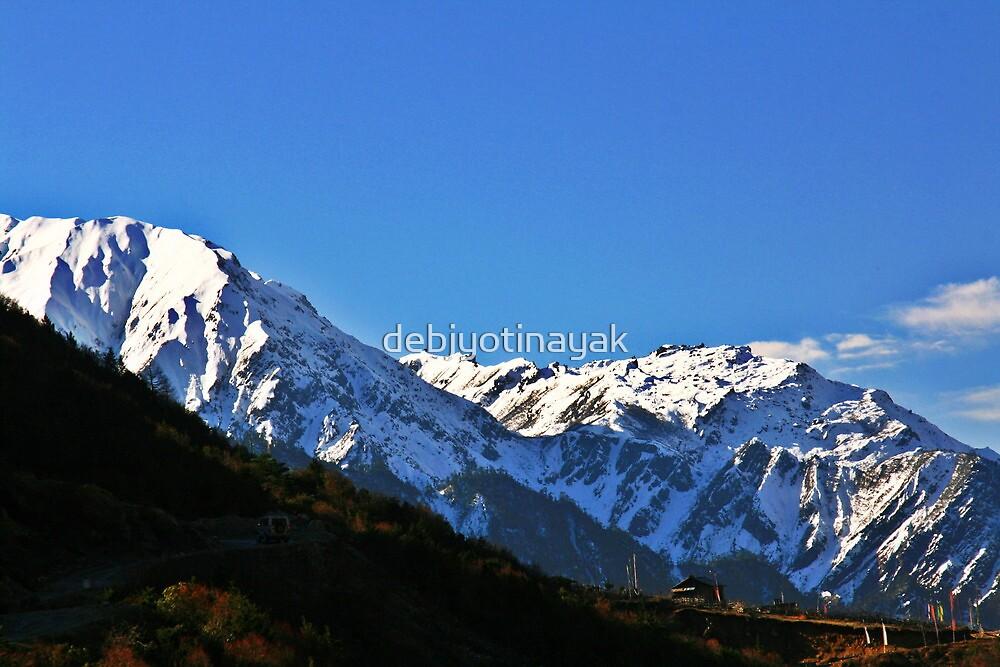 A high altitude scene. by debjyotinayak