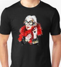 Iris Apfel Slim Fit T-Shirt