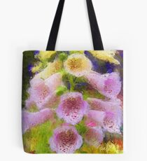 Cowbell Flowers - Cambria, CA Tote Bag
