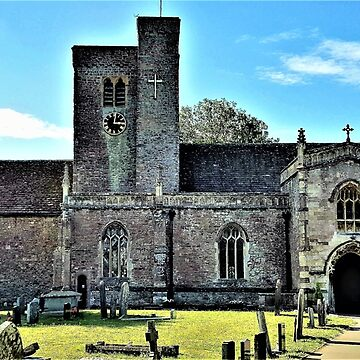 St. Mary's Church in Magor, Wales by Lesliebc