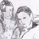 Emma and I by blondie1sammo