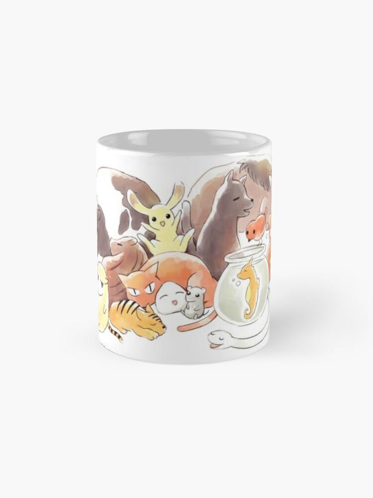 Alternate view of Fruits Basket | Zodiac Animals + Rice ball Mug