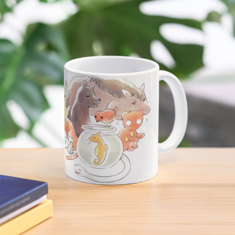 Fruits Basket | Zodiac Animals + Rice ball Mug