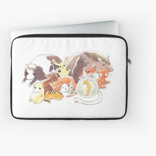 Fruits Basket | Zodiac Animals + Rice ball Laptop Sleeve