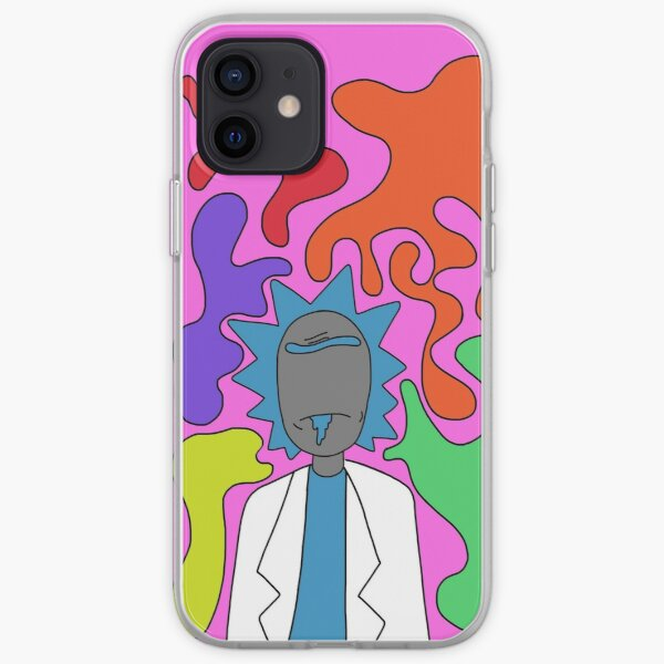 Rick rainbow iPhone Soft Case