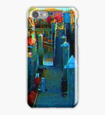 Northern Cloud - Monterey Boat Harbor, Monterey, CA iPhone Case/Skin