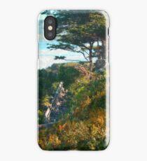 Beach Staircase - Carmel, CA iPhone Case/Skin