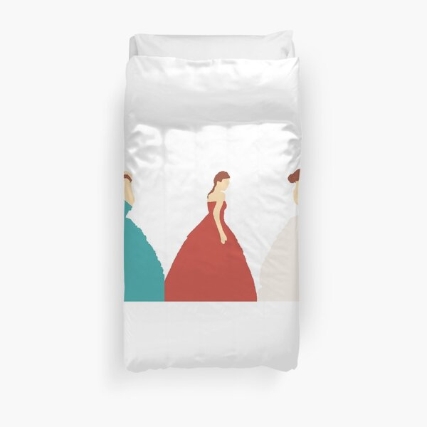 The Selection Trilogy Silhouettes Duvet Cover