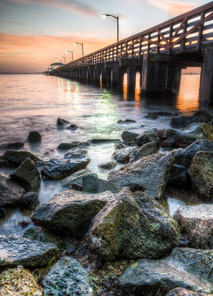 Colorful Tampa Bay by Clay Townsend