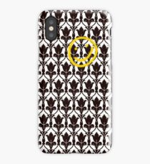 Sherlock Smile Face iPhone Case