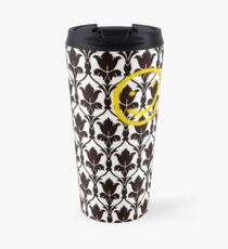 Sherlock Smile Face Travel Mug