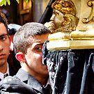 """The Misteri procession - cry by Antonello Incagnone """"incant"""""""