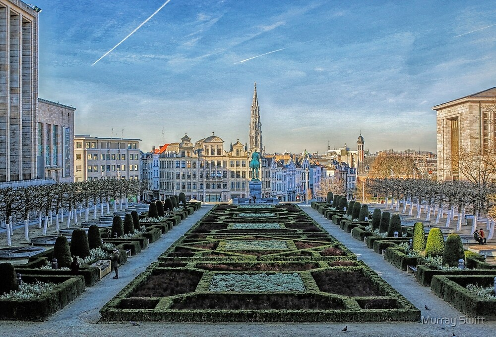 A cool afternoon in Brussels by Murray Swift