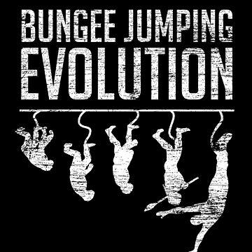 Bungee Jumping Evolution by GeschenkIdee