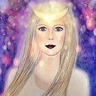 moon goddess by Lilaviolet