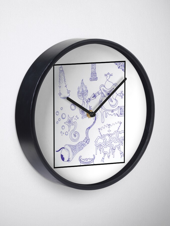 Alternate view of Merch #15 -- Scattered Sources. Clock