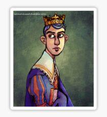 Prince Fluff Gijinka Portrait Sticker