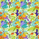 Tropical toucan  by Angela Sbandelli
