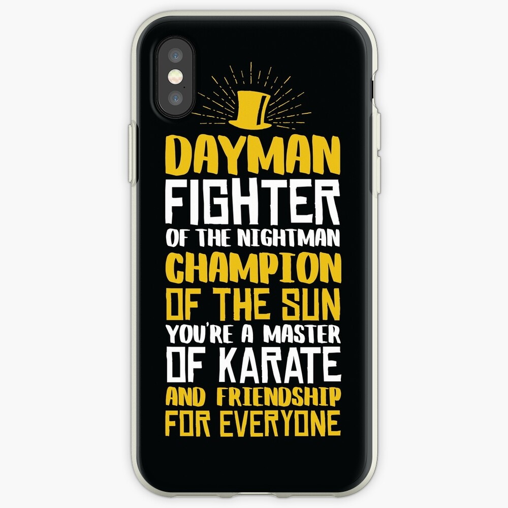DAYMAN! Champion der Sonne! iPhone-Hülle & Cover