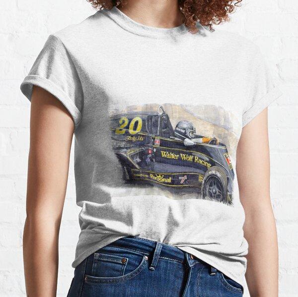 Monaco 1976 Wolf Wiliams FW05 Jacki Ickx Classic T-Shirt