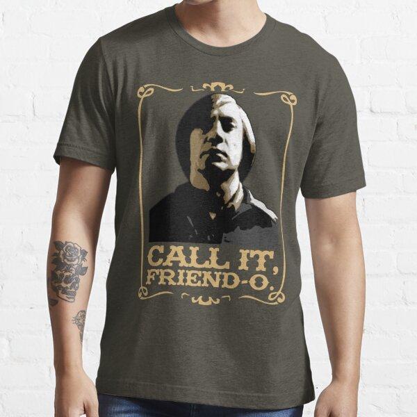 "Anton Chigurh - ""Call it, Friend-o."" Essential T-Shirt"