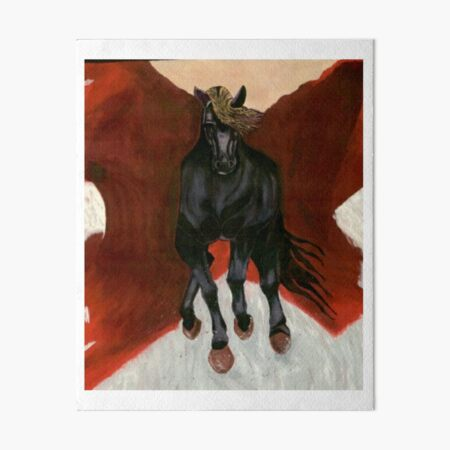 Dark Horse  Art Board Print