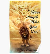 Never Forget Who You Are Poster
