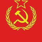 Communist Cold War Flag by Chocodole