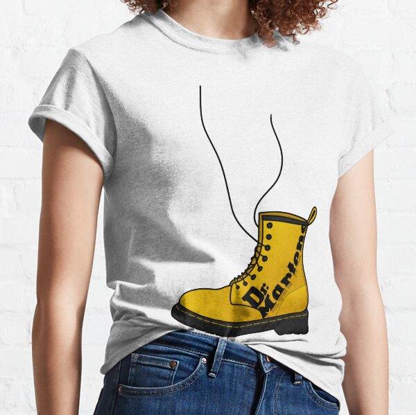 Dr. Martens old school jaune T-shirt classique