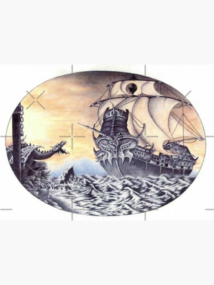 Dragon Ship by michaelapelt