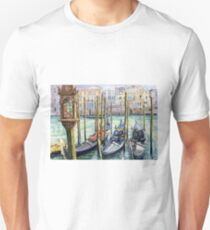 Italy Venice Lamp Unisex T-Shirt