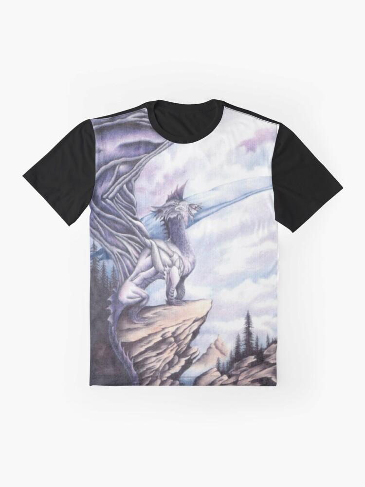 Alternate view of Dragon Island  Graphic T-Shirt