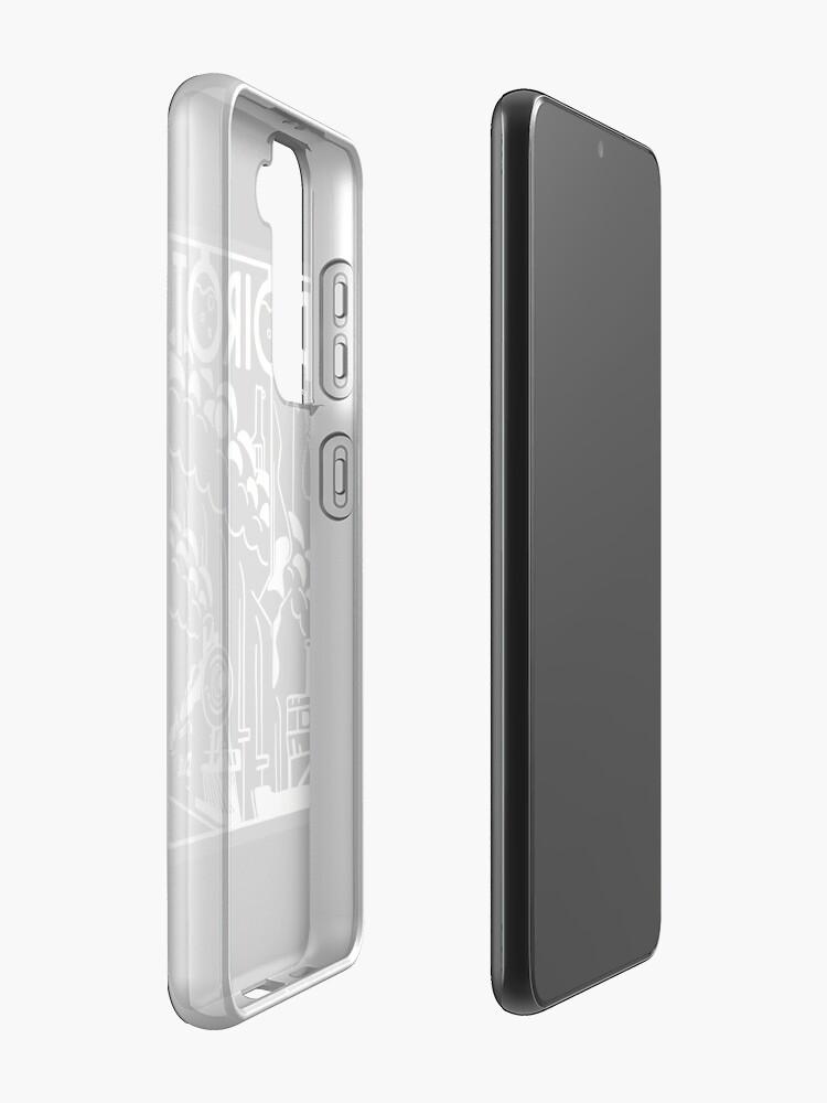 Alternate view of Poirot Case & Skin for Samsung Galaxy