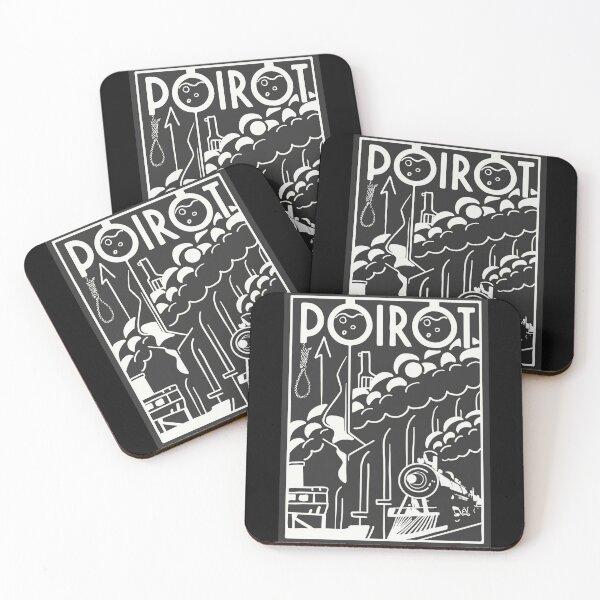Poirot Coasters (Set of 4)