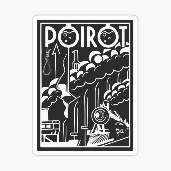 Poirot Sticker