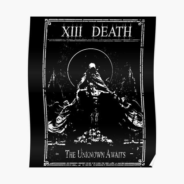 XIII Death Tarot Karte Poster