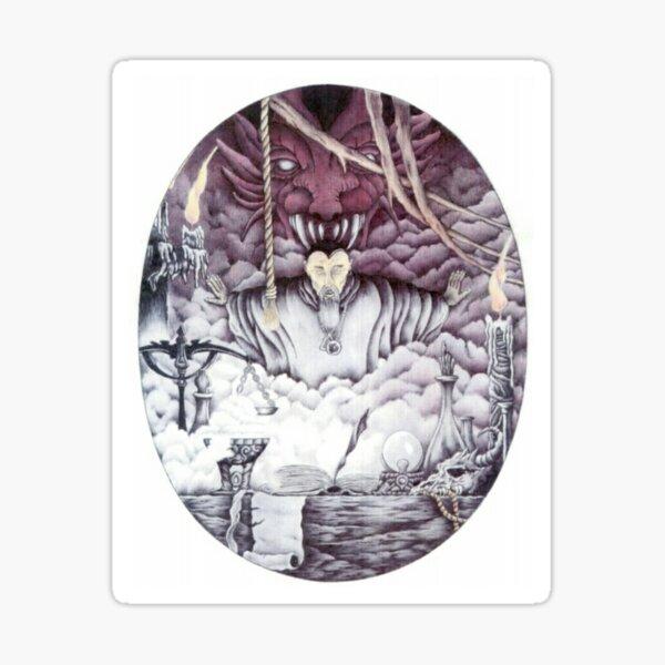 Warlock. Sticker